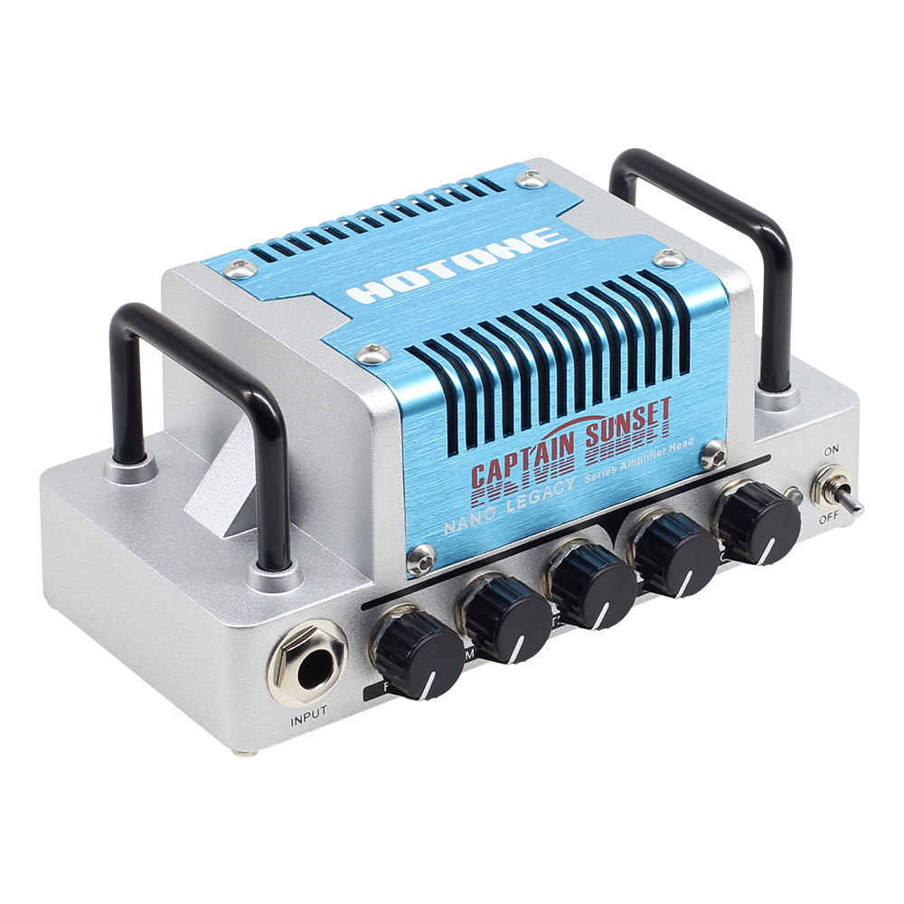 Hotone Captain Sunset High Gain Guitar Amp Head 5 Watts Class AB Amplifier With CAB SIM Phones/Line Output NLA-9