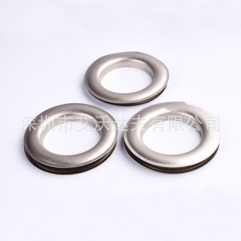 Manufacturers Direct Selling Shoe Box Metal Large Size Large Rims Eyelet Tarpaulin/Canvas Clavus Shoe Handbags Buttonhole