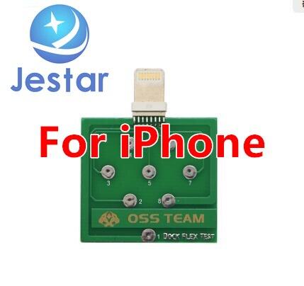 Micro USB док-станция Flex тестовая плата для iPhone 6 7 8 и Android Phone U2 зарядка аккумулятора док-станция гибкий инструмент для легкого тестирования