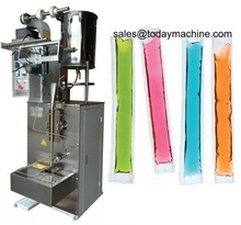 Factory Price Ice Candy Packaging Making Ice Pop Filling Sealing Machine easy operation factory price gas electric donut filling machine