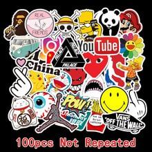 100Pcs Custom Stickers Logo Papelaria Sticker For Laptop Decoration Logo Removable Sticker Paper Stationery Sticker Logo TZ041G