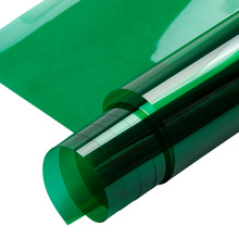 Sunice Green Decorative window film Privacy glass Solar Tint Party Decor Home Window Decor self adhesive wide:50cm
