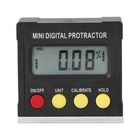 Horizontal Angle Meter Digital Protractor Inclinometer Electronic Level Box Magnetic Base Measuring Tools|Protractors| |  -