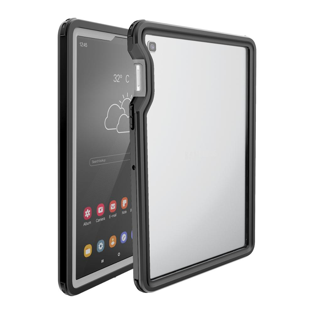 Waterproof Cover <font><b>Case</b></font> for Samsung Galaxy Tab S5E 10.5 <font><b>T720</b></font> Shockproof Full Protect Shell for Samsung S5e Underwater Swim Fundas image