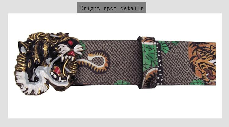 Tiger Jean Western Style COWBOY BIKER GÜRTEL BELT 10028