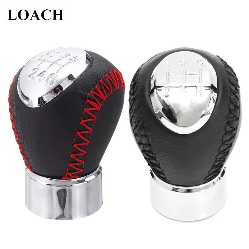 5 6 Speed MT Gear Shift Knob For Mazda 3 BK 5 CR 6 GG/GY MPV PREMACY CP 323/323F BJ 626 GF/GW XEDOS 6 RX-8 GearShifter Stick Pen