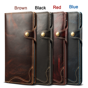 Image 5 - Genuine Leather For Samsung S20 Ultra Note 20 10 Plus 9 Case Wallet Flip Case for Samsung Galaxy S8 S9 S10 Plus Note 8 9 10 Case