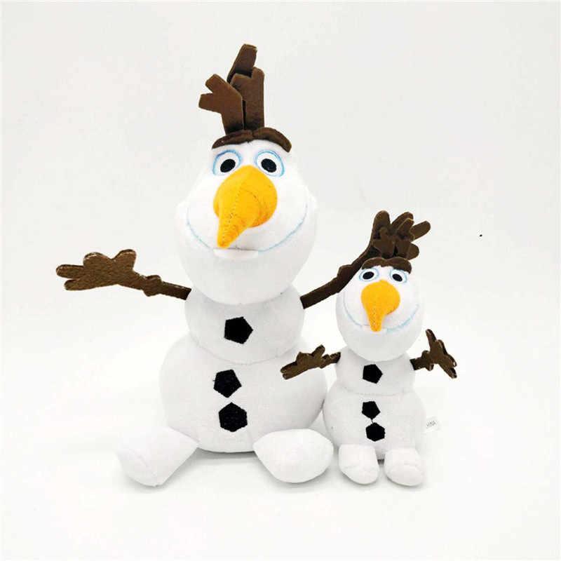 Frozen 2 muñeco de nieve juguete de peluche de Olaf muñecos de peluche Kawaii peluches suaves para niños regalos de navidad