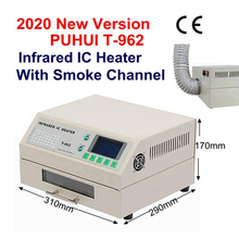 2020 עדכון T962 חמה אינפרא אדום IC דוד 110V/220V T 962 שולחן העבודה Reflow הלחמה BGA SMD SMT עיבוד חוזר תחנת t962 הזרמה מחדש גל תנור