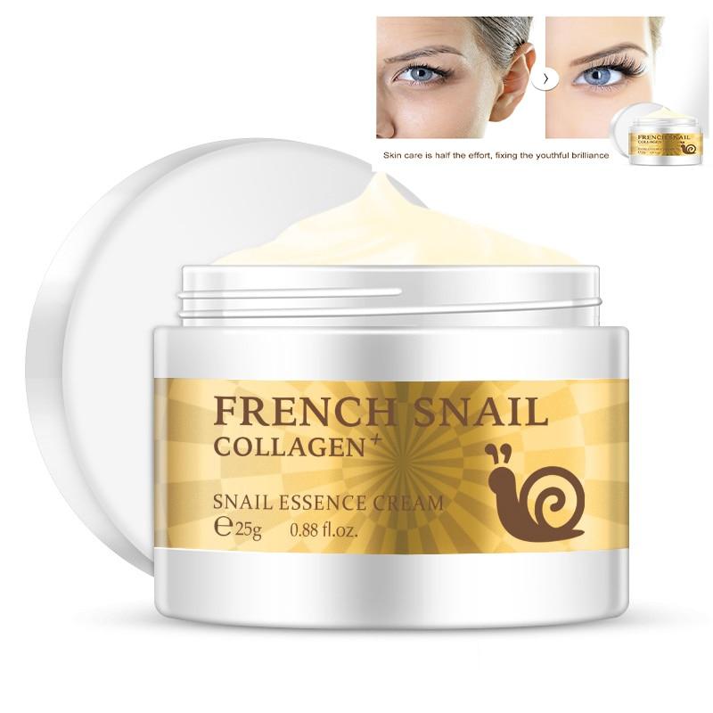 2/3/5pcs Snail Face Cream Hyaluronic Acid Moisturizer Anti-Aging Nourishing Serum Collagen Whitening Cream Skin Care TSLM1