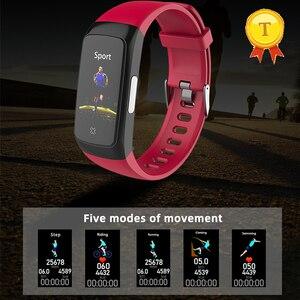 Image 5 - ที่ดีที่สุดขาย PPG ECG สร้อยข้อมือสมาร์ทความดันโลหิตเลือดออกซิเจนวัด Heart Rate Monitor นาฬิกา Fitness Tracker สายรัดข้อมือ