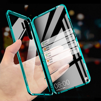 Transparent Case For Xiaomi Mi Note 10 Pro Case Tempered Glass Cover Hard Case For Xiaomi CC9 Pro Case Double Sided Glass Fundas|  -