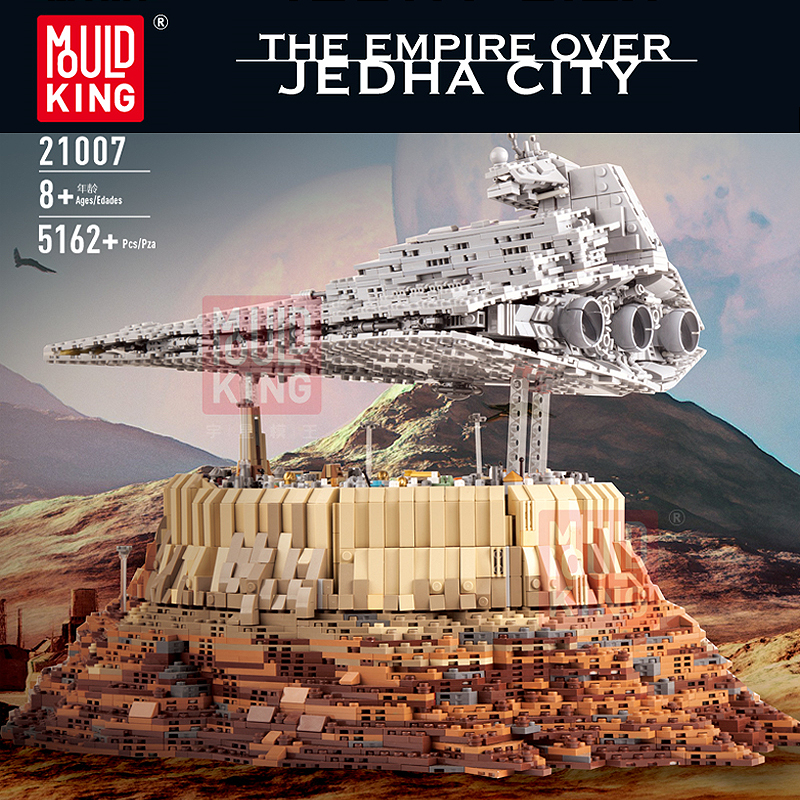 MOULDKING 21007 The Empire over Jedha City