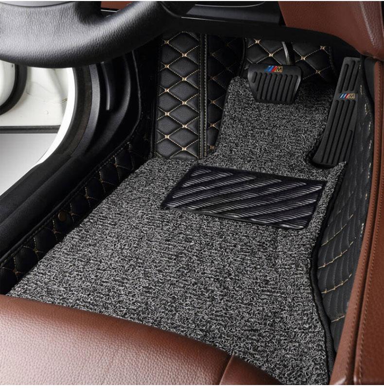 Nylon Carpet Coverking Custom Fit Rear Floor Mats for Select Honda Pilot Models Black CFMDX1HD7084