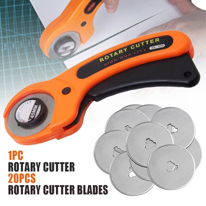 1pc 45mm Rotary Cutter Round Rotary Cutter Fabric Sewing Roller Cutting Tools DIY Patchwork Sewing Accessories