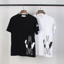 9173 # S-3XL T-shirt imprimé nouveau T-shirt à manches courtes grande taille chemise pour hommes et femmes