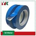 Yx 50 m/rolo dupla face fita adesiva condutora térmica lateral dupla fita de transferência para chip pcb led tira dissipador de calor 2 pces