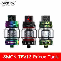 Vape smok tfv12 príncipe tanque cigarro eletrônico ponta gotejamento 510 atomizador vaporizador cigarro eletronico atomizador vagem