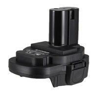 Conversor de adaptador de bateria converter acessórios para makita 18 v ni ferramentas eléctricas sem fio l9 #2