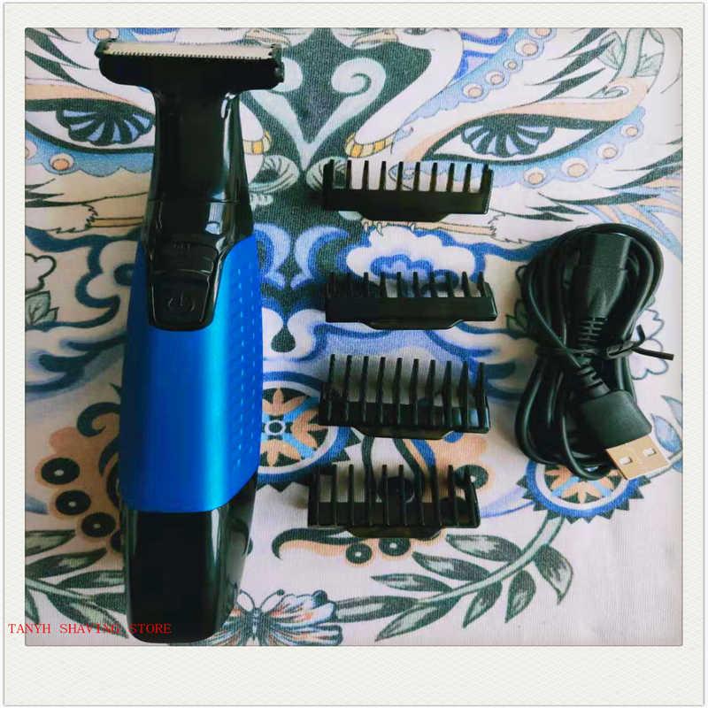 4 klingen bart trimmer rasieren und haar entfernung mann gesicht rasieren mann rasiermesser sicherheit rasiermesser China hergestellt gestochen billig
