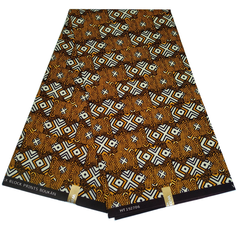 Blesing african wax fabric kente fabrics 6yards african wax prints wholesale polyester ghana wax fabric for dress
