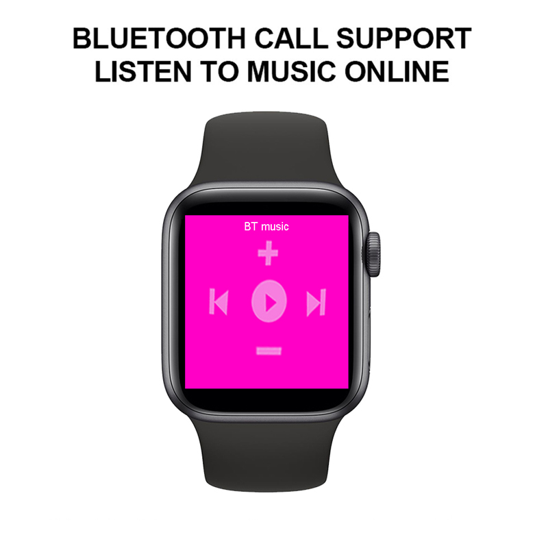 Smartwatch IWO13 T500 Series 5 Bluetooth Call 44mm Smart Watch Heart Rate Monitor Blood Pressure for IOS Android PK IWO 12 IWO 8 3