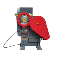 2200W Small Punching And Shearing Bombined Machine High Power Multifunctional New Angle Iron Channel Steel Bar Cutting Tools