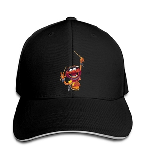 Muppet-casquette de Baseball pour hommes | Animal, blanc 70S 80s 90s, batteur rétro, bracelet drôle, musique amusant, casquette Snapback pour femmes