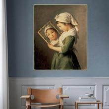 Toile de peinture à l'huile Holover E.Vigee lemarron,