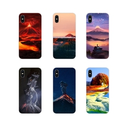 Для Xiaomi Mi4 Mi5 Mi5S Mi6 Mi A1 A2 A3 5X 6X 8 CC 9 T Lite SE Pro аксессуары чехлы для телефонов Чехлы чудеса природа вулкан