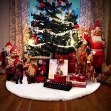 1 шт., белая Рождественская елка, юбка, коврик, фартуки, меховые украшения для дома, натальная елка, юбки, Новогоднее украшение, год