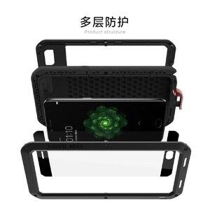 Image 3 - LOVE MEI Ốp Lưng điện thoại OPPO R9s Plus Giáp Thể Thao Ngoài Trời Nhôm Kim Loại Bảo Vệ Cứng dành cho OPPO R9 Plus kính cường lực