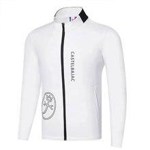Новая мужская одежда для гольфа на осень и зиму, куртка для гольфа с длинным рукавом на выбор, хлопковая куртка для отдыха, Cooyute на лобовое стекло для гольфа