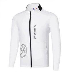 Новая мужская одежда для гольфа на осень и зиму, куртка для гольфа с длинным рукавом на выбор, хлопковая куртка для отдыха, Cooyute на лобовое ст...