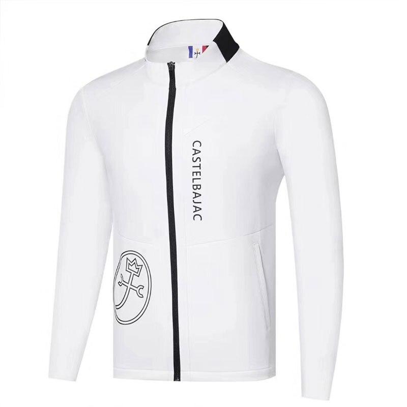 Nouveaux hommes vêtements de Golf automne hiver à manches longues veste de Golf dans le choix loisirs coton plein Golf pare-brise Cooyute