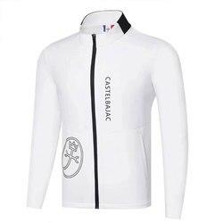 Nueva ropa de Golf para hombre Otoño Invierno chaqueta de Golf de manga larga en opción de ocio de algodón completo Golf parabrisas Cooyute