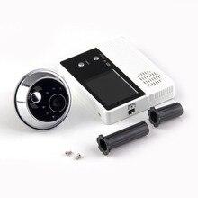 """2,"""" TFT ЖК-экран цифровой глаз просмотра видео камера дверного звонка, монитор домофона спикерфон домофон домашний охранный звонок"""