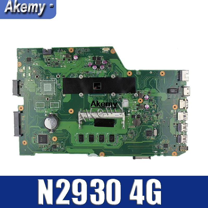 Amazoon  X751MA Laptop Motherboard For ASUS X751MA X751M K751M X751 Test Original Mainboard N2930 Cpu 4 Cores
