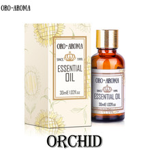 Famous brand oroaroma natural Orchid essential oil Anti depression Aphrodisiac Antibacterial Breast enhancement Orchid oil