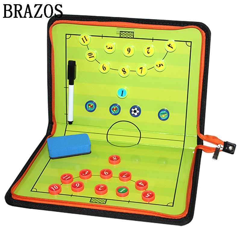 Zipper Futsal Tactic Board Magnetic Football Board Training Soccer Coach Futsal Ball Game Portable Football Coaching Voetbal