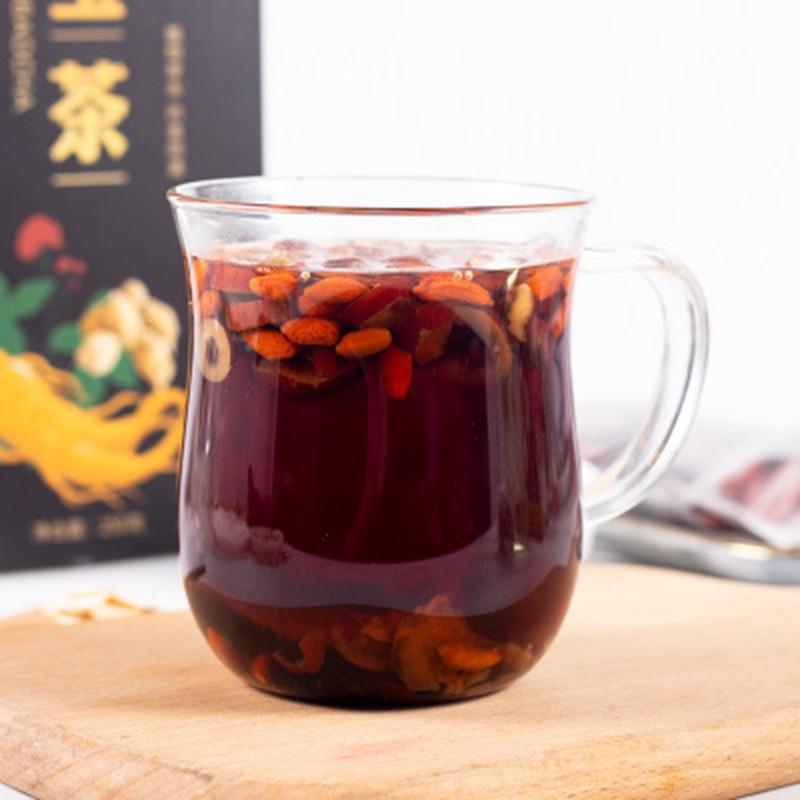 Ginseng Wubao Tea  Ginseng Maca Wolfberry Man Health Tea Men's Tea Nourishes Kidney Herbal Teas Men's Health  Relieve Fatigue 4