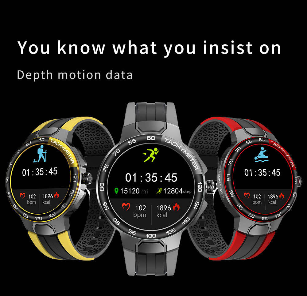 H4572ba00c1954186a40e7467a20e6a80Z Smart Watch Men Women IP68 Waterproof Bluetooth 5.0 24 Exercise Modes Smartwatch E1-5 Heart Rate Monitoring for Android Iosr A