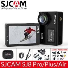 SJCAM 4K caméra daction SJ8 Pro/SJ8 Plus/SJ8 Air 1296P 4K 30fps/60fps HD télécommande casque étanche caméra FPV sport DV