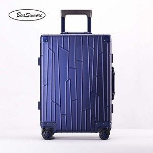 Image 2 - BeaSumore ใหม่ 100% อลูมิเนียมโลหะผสม Rolling กระเป๋าเดินทางคุณภาพสูงรถเข็นผู้ชาย 20 นิ้ว Cabin กระเป๋าเดินทาง