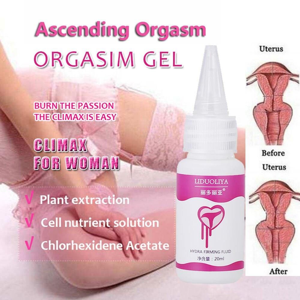 Female Orgasms Gel 20ml Shrinking Vaginal Lubricant Massage Oil Libido Enhancer Tightening Orgasmic Gel Sexual Sex Drops Enhance