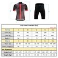Männer der 100% Polyester Quick-Dry Radfahren Jersey Set Fahrrad Kleidung Tragen Mountainbike Kleidung Ropa Ciclismo Radfahren Set