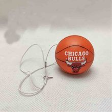 5cm Chicago Bulls Basketball Necklaces Pendant Pendant Model Toy Team Topper For Men Boy Gifts