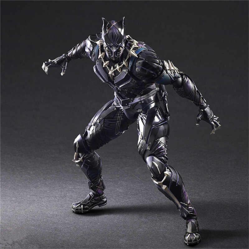 Avengers zagraj w Art Kai figurki Wonder Woman kapitan amerykańska czarna pantera superman Iron Man Batman figurka zabawka model lalki
