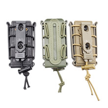 Win Magazine Pouch 9mm Pistol Molle Mag Soft Shell Belt Clip Holster Fastmag Webbing dispense