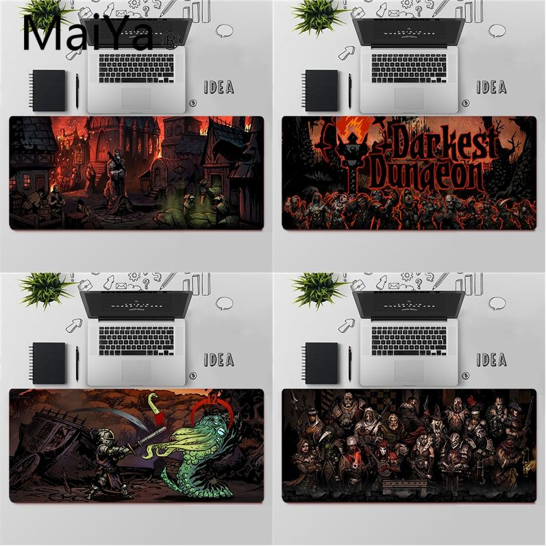 Maiya Top Quality Darkest Dungeon Gamer Speed Mice Retail Small Rubber Mousepad Free Shipping Large Mouse Pad Keyboards Mat